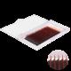 """20 линий, цвет """"Черно-красный"""",  (из за разной калибровки экрана цвет может отличаться, все ресницы яркого и сочного цвета)"""