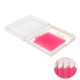 """10 линий, цвет """"Малиновый"""" , (из за разной калибровки экрана цвет может отличаться, все ресницы яркого и сочного цвета)"""
