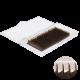 """Микс, изгиб L+, цвет """"Горький шоколад"""", 18 линий"""